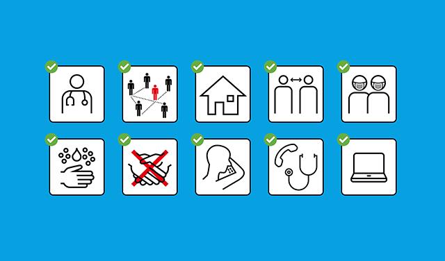 BAG Verhaltens- und Hygieneregeln