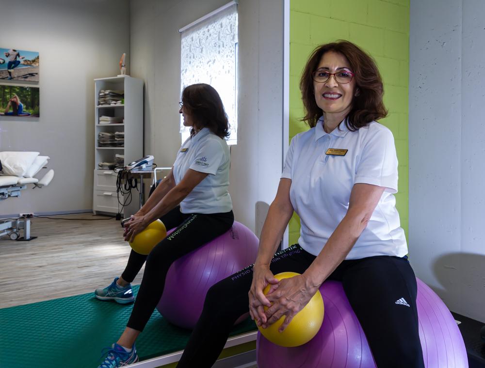 Nilsa Stettler Inhaberin MotionDynamix Physio Prävention Training in Egg